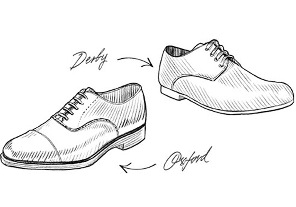 Oxford vs Derby Shoe - What's The Difference?