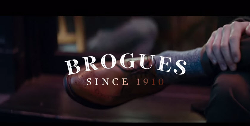Our Andrew Jackson brogues featured on new Smithwick's advert