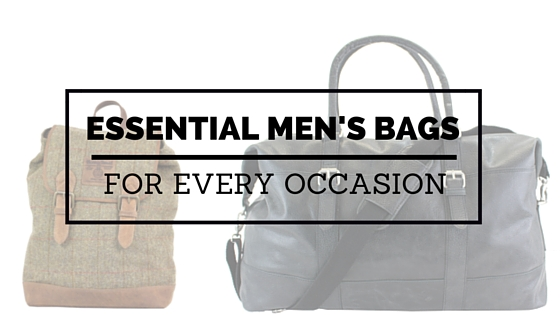 Men's bags – yes or no?