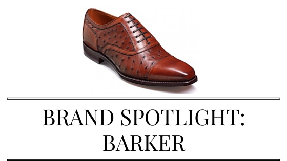 Brand Spotlight: Barker shoes