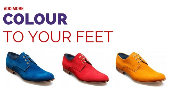 Add more colour to your feet with Barker Wolseley