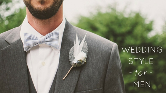 Wedding style for men