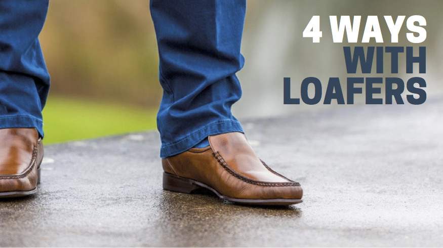 4 ways with loafers