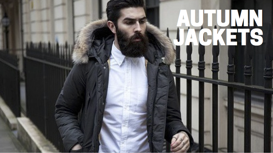Autumn jackets for men